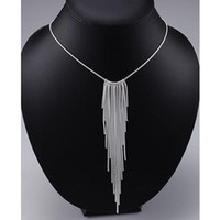 Wholesale Retail lowest price Christmas gift silver fashion Jewelry Necklace N90
