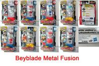 Wholesale HASBRO Beyblade Spinning Top Toy Original Freeshipping Clash Beyblade Metal Fusion Battle On