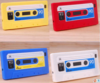 Red cassette case - Cassette case VideoTape case ft Silicone Rubber CASE back COVER for Samsung Galaxy I9100 S2 S II