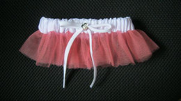 Wholesale Hot Sale In Stock Organza Diamond Wedding Garters Bridal Garter Wedding accessory Low Price