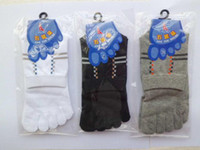Wholesale Socks FIVE TOE SOCKS cotton sock men s fashion amp health five fingers socks sports sock top quality