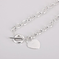 Wholesale Retail lowest price silver Necklace N060