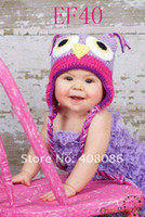 baby hat with ears pattern - Crochet Pattern Baby Hat Handmade Knitted Toddler Owl Hat with Ear Flap Animal Styles Baby Owl Beanie Cap owl baby hat