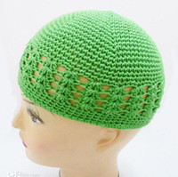 Wholesale Factory direct sell Crochet beanie kufi hat toddler beanie cap