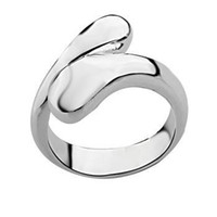 Wholesale Retail lowest price Christmas gift silver Rings R012
