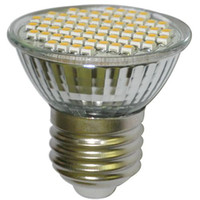 Wholesale E27 LED SMD Screw Light Bulb Warm White V for sample