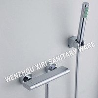 Classic bathtub classic - double handle shower faucet brass chrome finishing bathtub tap RJ T106