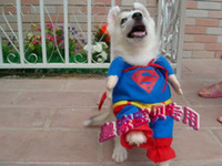 Dog Costumes best fall clothes - Best SUPER DOG CLOTH Dog Clothing Superman Costumes for Dogs Cute Pet Dog s Clothes Costume