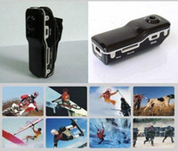 Wholesale MD80 BLACK ssk mini dv camera mini dv player recorder video camera hidden camera mini camcorder md80