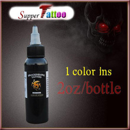 Wholesale Tattoo Supplies Professional Tattoo Ink Pigment Black OZ