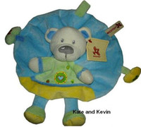 Wholesale Cuddle cloth Nicotoy Rattle Soft Plush Baby Toy quot CE MARK