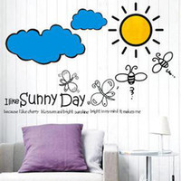 Removable PVC Nature Sunny living room sofa decorated bedroom TV background 3rd generation removable wall stickers LD604