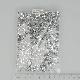Wholesale 3bags bag optional mm Clear White Round Crystal Nail Art Tip Rhinestone
