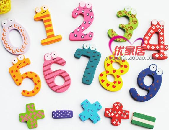 Toys For Learning Numbers : Kids early learning maths toys numbers design wooden