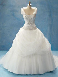 Wholesale 2012 New arrival ball gown sweetheart neck chapel Wedding Dress Style