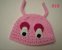 2-4 Years Beanie / Skull Cap Pink 2011 New Animal Hat Costume Crochet owl Hat Baby Hat Beanie Cartoon Designs can choose first quality