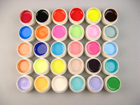Wholesale ml PS Pure Solid GEL Opaque UV Gel color For Decoration Nail Art NA924