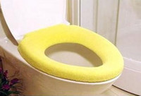 Eco Friendly   Toilet Seat Cover Toilet Seat Pad Toilet Set Color Flocking Soft and Comfortable 30 pcs