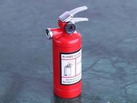 novelty lighters - 20PCS creative cute small fire extinguishers fire extinguisher lighter novelty lighters gas lighter