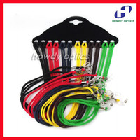 Wholesale 12colors dozen colorful eyewear nylon cord reading glasses neck strap eyeglass holder
