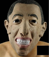 Wholesale Top class latex copy USA president Obama halloween masquerade party carnival mask by