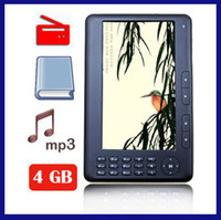 Wholesale CHpost GB inch Ebook reader TFT screen e book reader P FM MP3 MP4 epad RW L10