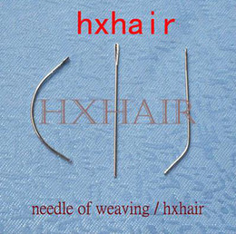 288pcs   2boxes Needle of Weaving   Human Hair Weft Extension Weaving Tools