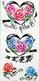 Wholesale Mix Order Waterproof Tattoo Sticker Body Art Temporary Sticker Seductive Body Painting