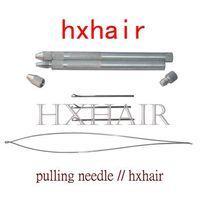 Wholesale 20pcs Aluminium Handle Multifunction Pulling Needle Micro Rings Links Loop Hair Extension Tools