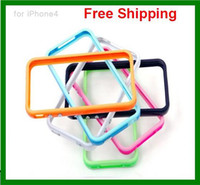 Wholesale 20pcs Signal protection frame Glow in the Dark Noctilucent Bumper Frame TPU Case cover for phone