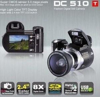 Wholesale HOT DC510T DC510 inch TFT MP x Digital Camera Video Camcorder DC500T Upgrade Edition Christmas