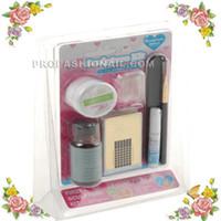 No acrylic sculpture kit - D Nail Art Sculpture Kit Mini Manicure Acrylic Powder Stater set NA231