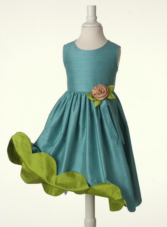 Best Selling Simple Beautiful Girl's Dress Children Dresses F041 ...