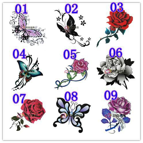 Hot sell cheap wholesale waterproof tattoo sticker for Wholesale temporary tattoos