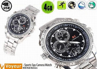 Sport analog digital recorder - USB Watch GB x960 Sport Watch Waterproof Surveillance Spy Watch Digital Video Recorder with Hidden Camera
