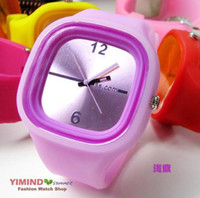 Wholesale Good Quality Colors for Customer Options Off Pormotional Colors Jelly Watch