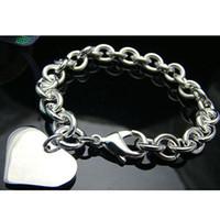Wholesale Retail lowest price Christmas gift silver Bracelet bangle B048