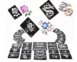 Wholesale New tattoo stencil designs for Body art Painting mixed designs