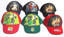 Wholesale Children cartoon caps fashion cotton caps hats kids summer caps children boys girls Visors baseball hat cap per AL KC
