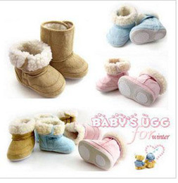 Wholesale Baby Boots Infant Snow Boots Kid Antiskid Soft Sole Shoes Children Winter Boots Shoes
