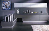 Wholesale Kitchen designer painted Kitchen Cabinet design Kitchen design service LQ