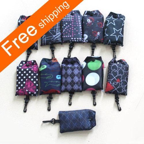 Nylon Reusable Shopping Bag Eco-Friendly Shopping Bags Foldable ...