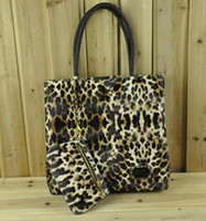 Chirstmas   New hot Designer bags Lady of Genuine PU Handbags purse for women Shoulder bag Leopard #1326