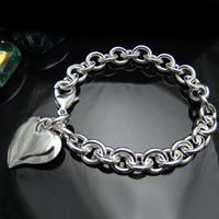 Wholesale Retail lowest price Christmas gift silver Bracelet bangle B063