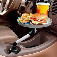 Wholesale Multi functional Tray new Car table swivel saucer car Vehicle Rear Seat Back Multi Function Ca