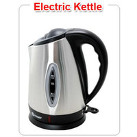 Wholesale Home Automatic Stainless Steel Electric Kettle Rotated fast heating boil water kitchen tool KE H