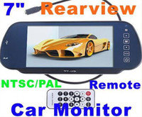 "DVD/VCD Player FM Radio Dashboard Car Monitor 7"" Color TFT LCD Car Rearview Monitor SD USB MP5 FM Transmitter Car video +free shipping"