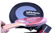 Wholesale NEW Butterfly table tennis racket paddle TBC with case FL Chile freeshipping