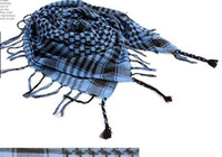 Linen arab neck scarf - women Men Arab Checkered Shemagh Kafiya Palestine Neck Scarves Scarf Pashmina Wrap Stole Shawl Mixed color choice H061