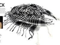 arab neck scarf - Fashion Unisex Decoration Arab Checkered Shemagh Keffiyeh Palestine Neck Scarves Scarf Pashmina Wrap Stole Shawl H061